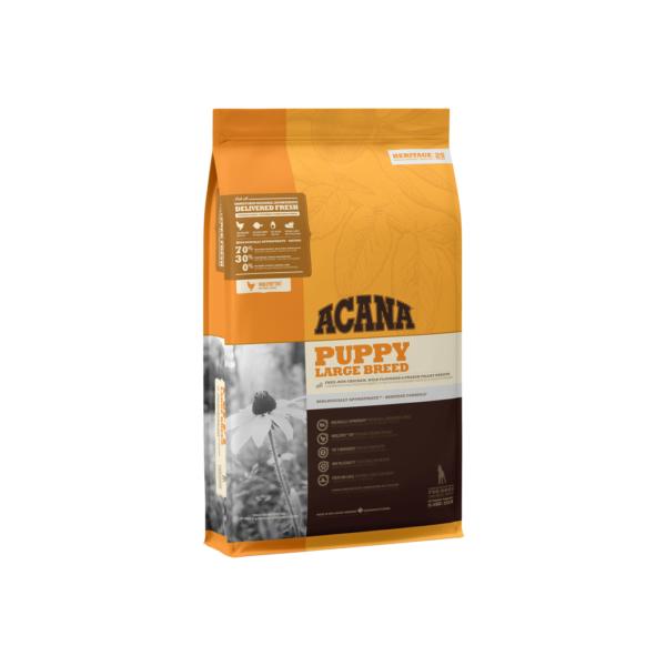 Acana Puppy Large Breed sausas maistas didelių veislių šuniukams 11.4 kg
