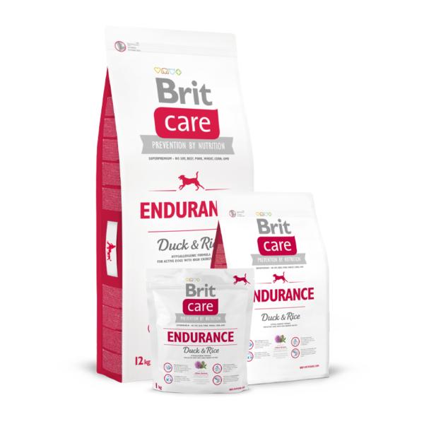 Brit Care Endurance Duck & Rice sausas maistas šunims
