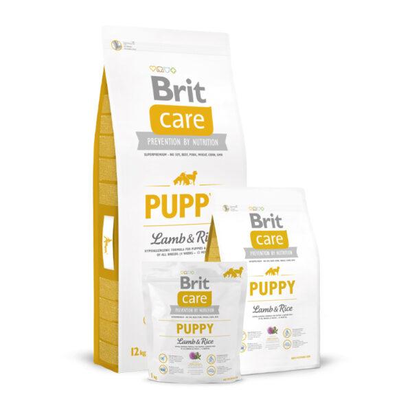 Brit Care Puppy Lamb & Rice sausas maistas šuniukams
