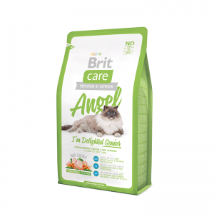 Brit Care Angel I´m Delighted Senior sausas maistas katėms 2 kg