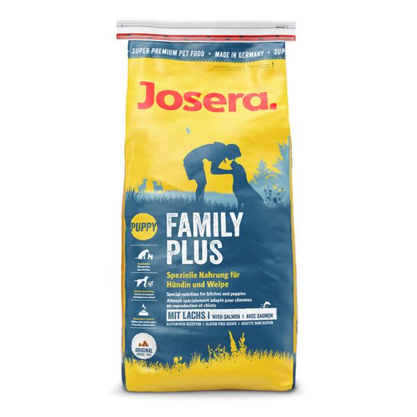 Josera Family Plus sausas maistas šuniukams ir žindančioms kalėms 15 kg