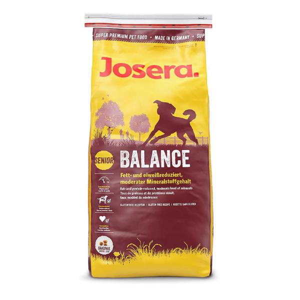 Josera Balance sausas maistas vyresnio amžiaus šunims 15 kg
