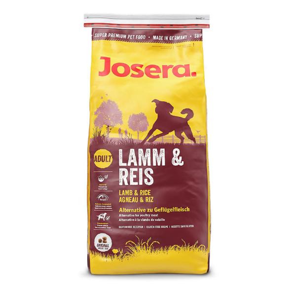 Josera Lamb & Rice sausas maistas šunims
