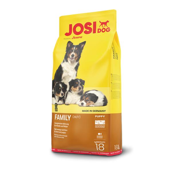 JosiDog Family sausas maistas šuniukams ir žindančioms kalėms 18 kg