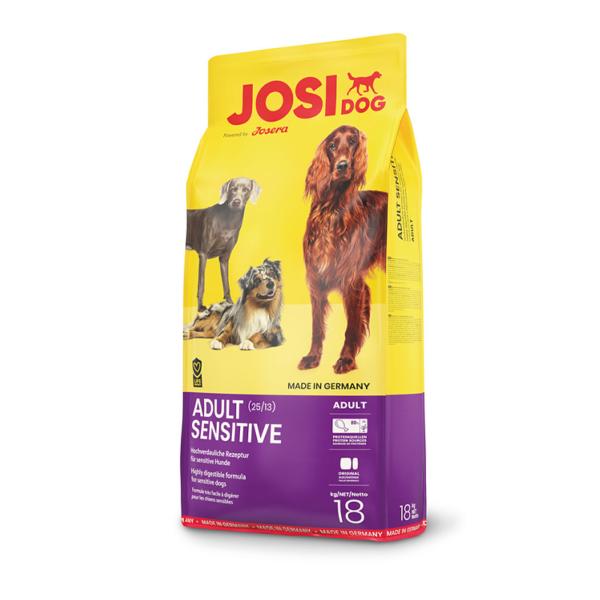 JosiDog Sensitive sausas maistas jautriems šunims 18 kg