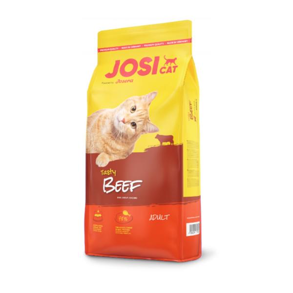 Josera JosiCat Tasty Beef sausas maistas katėms