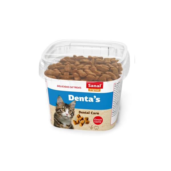 Sanal Denta's Cup pašaro papildas kačių dantims ir dantenoms