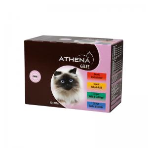 Athena guliašas želėje suaugusioms katėms 12 x 100 g