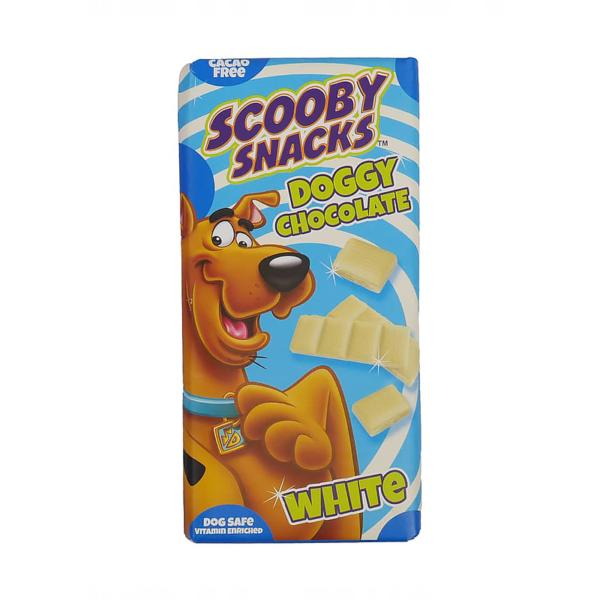Scooby Snacks baltas šokoladas šunims 100 g