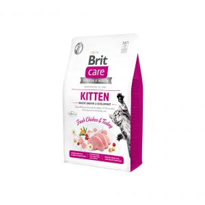 Brit Care Kitten Healthy Growth sausas maistas kačiukams