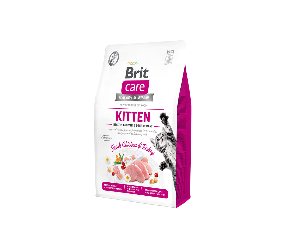 Brit Care Kitten Healthy Growth sausas maistas kačiukams