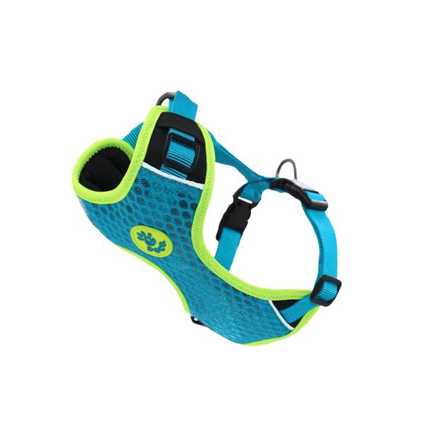Doco Athletica 3D Airflow reguliuojamos mėlynos petnešos šunims