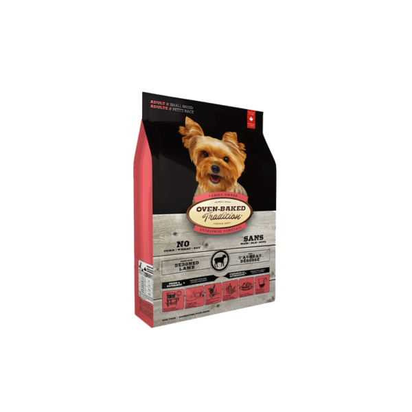 Oven Baked Tradition Adult Small Breed Lamb Rice sausas maistas šunims 2.27 kg