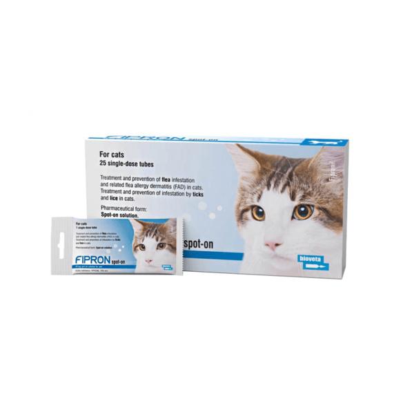 Fipron užlašinamasis tirpalas katėms 50 mg