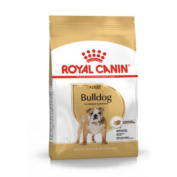 Royal Canin Bulldog Adult sausas maistas šunims 12 kg