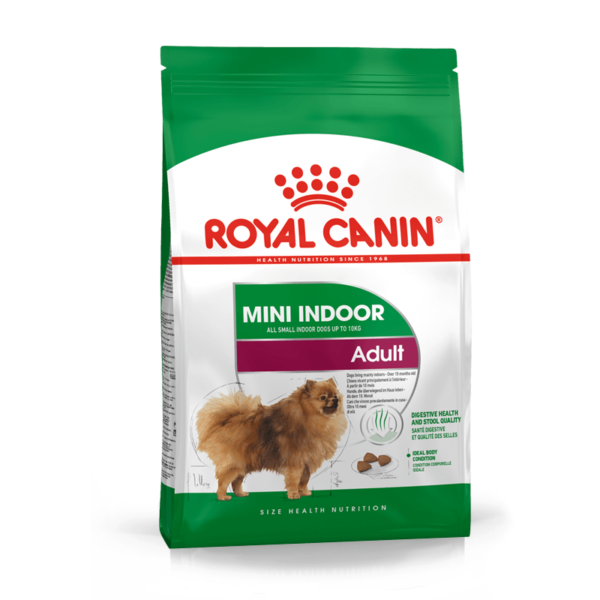 Royal Canin Mini Indoor Adult sausas maistas šunims