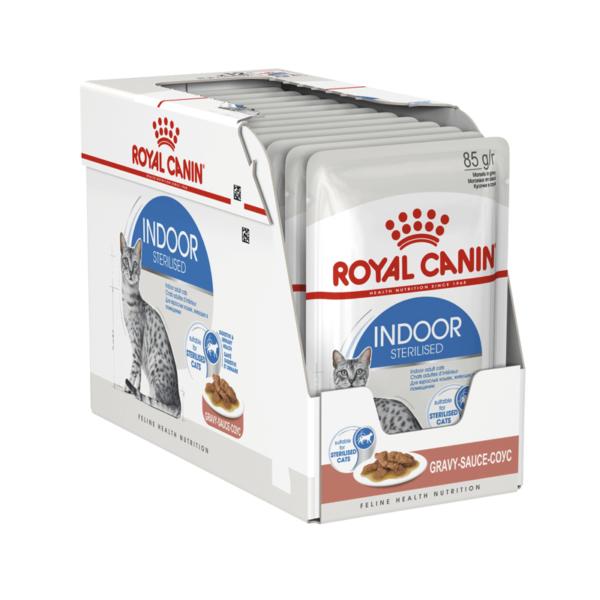 Royal Canin Indoor Sterilised konservai padaže