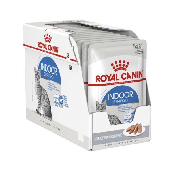 Royal Canin Indoor Sterilised paštetas
